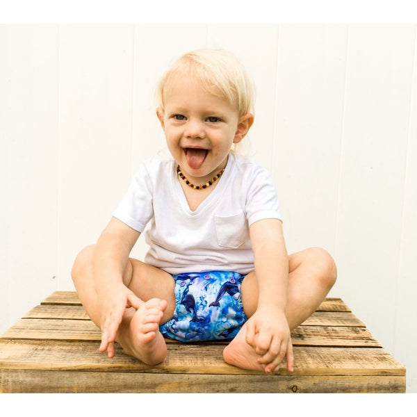 Flipper | Button's Diapers + Wayfaring Baby Exclusive Print - Wayfaring Baby
