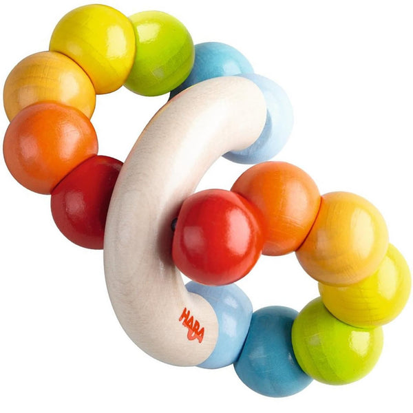 HABA - Color Whorl Clutching Toy - Wayfaring Baby