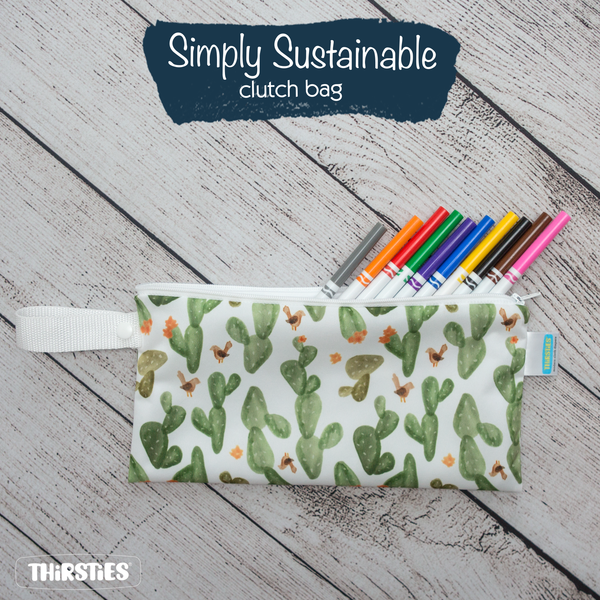 Thirsties - Simply Sustainable Clutch Bag
