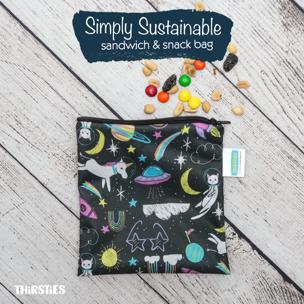 Thirsties - Simply Sustainable Reusable Snack Bag