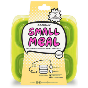 GoodByn - Small Meal + Leak Proof Dippers | Neon Yellow - Wayfaring Baby