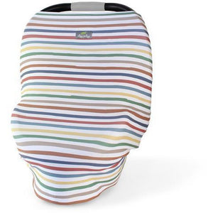 Itzy Ritzy - Mom Boss 4-in-1 Car Seat + Nursing Cover | Rainbow - Wayfaring Baby