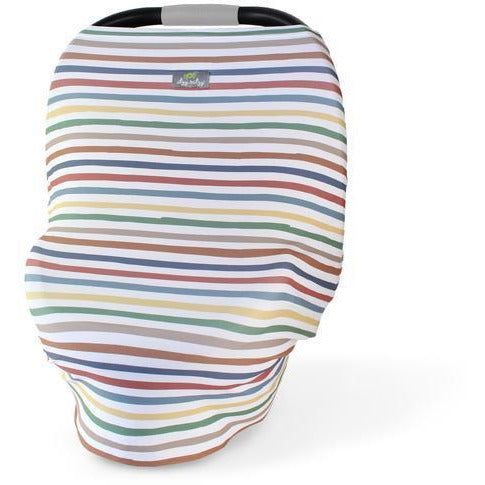 Itzy Ritzy - Mom Boss 4-in-1 Car Seat + Nursing Cover | Rainbow