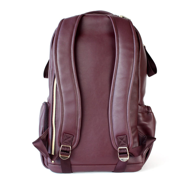Itzy Ritzy - Hello Merlot Boss Diaper Bag Backpack - Wayfaring Baby