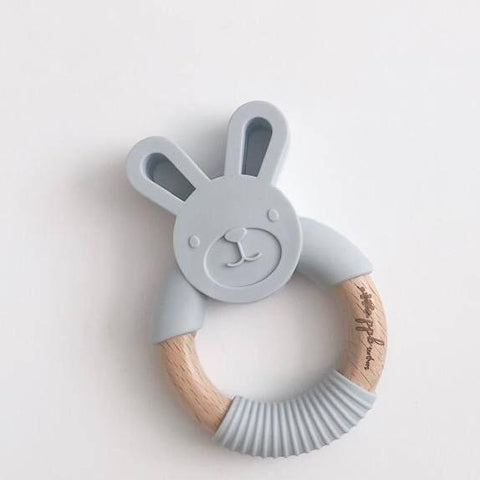Pretty Please Boutique Bunny Teether - Wayfaring Baby