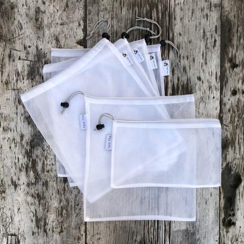 Big Bee, Little Bee - Reusable Produce Bags | 6 Pk. - Wayfaring Baby
