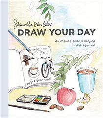Studio 56 recommends Draw your Day: An Inspiring Guide to Keeping a Sketch Journal by Samantha Dion Baker, an instructive guide to creating an illustrated journal featuring information on materials, creative inspiration and instruction, prompts, and helpful tips and tricks.