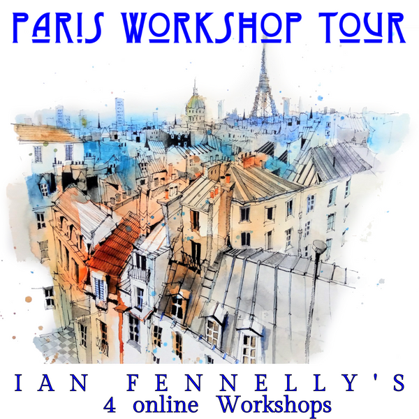Sketch Paris Workshop Tour with Ian Fennelly