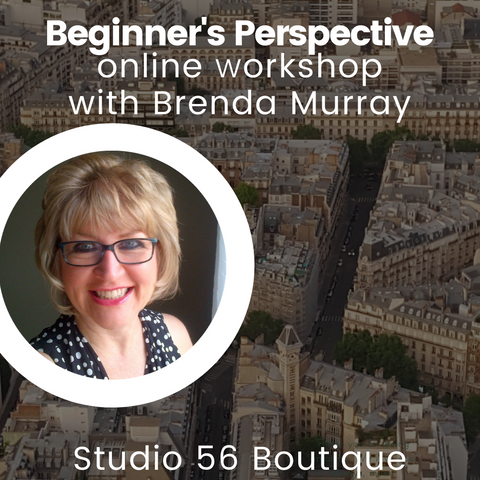 Beginner's Perspective Online Workshop with Brenda Murray