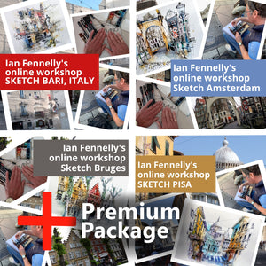 Sketch Tour of Europe Upgrade to Premium Package