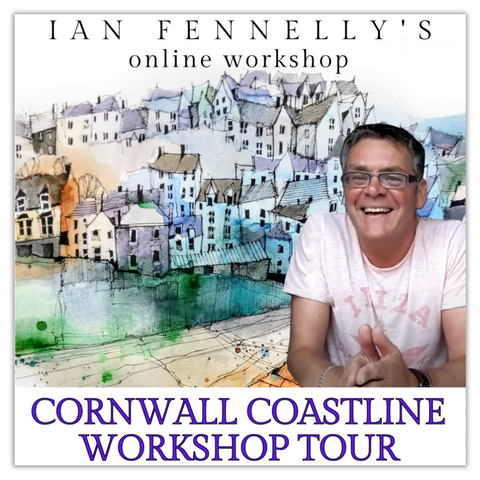 Cornwall Coastline Workshop Tour with Ian Fennelly