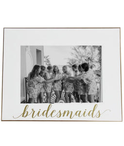 Bridesmaid Picture Frame - elrileygifts