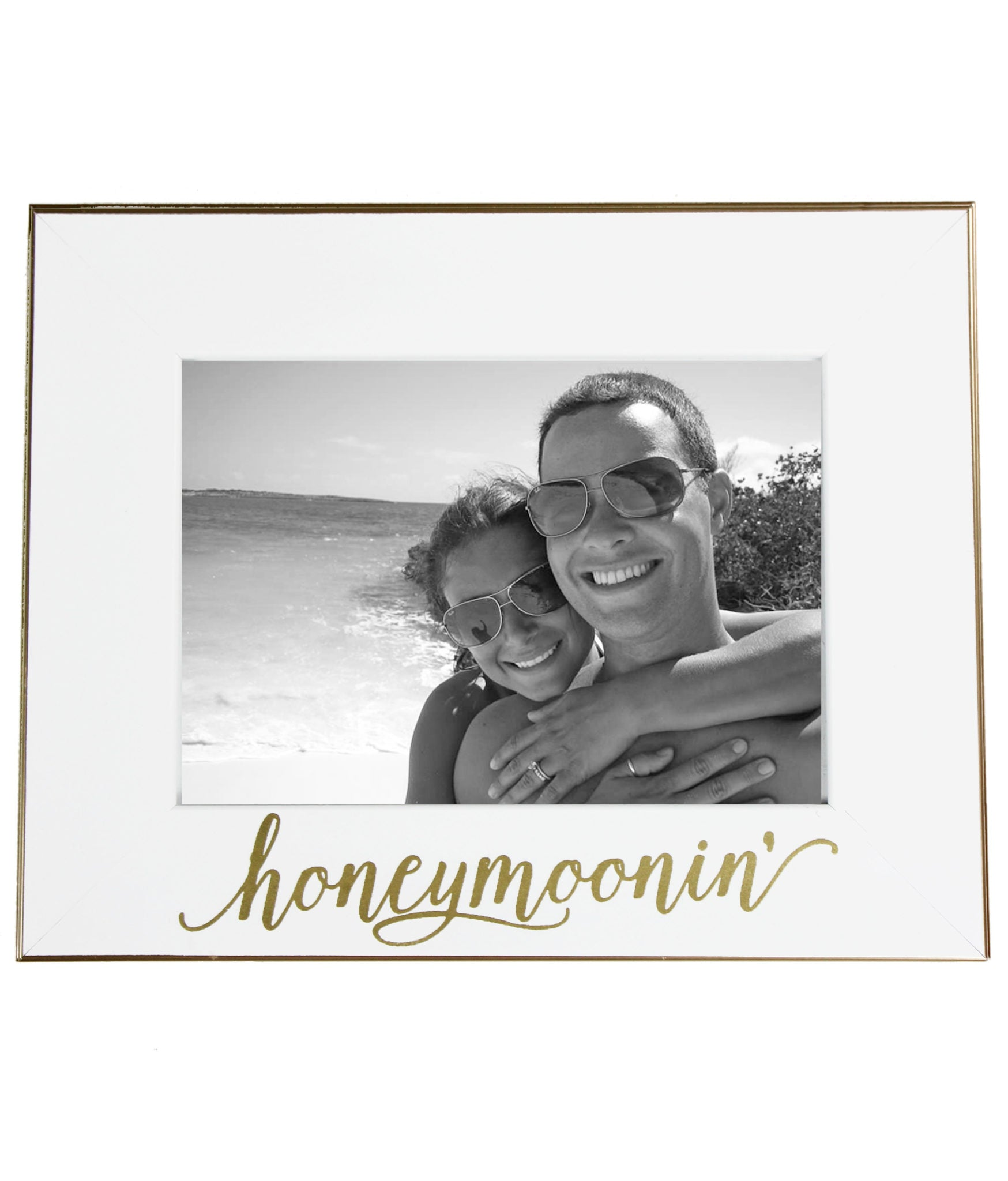 Honeymoonin' Picture Frame - elrileygifts