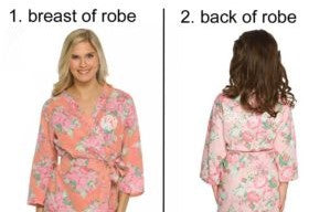 Bridesmaid Cotton Floral Robe - elrileygifts