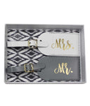 Mr & Mrs Luggage Tags - elrileygifts