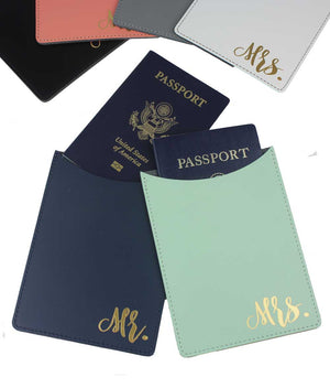 MR. & MRS. PASSPORT HOLDERS - elrileygifts