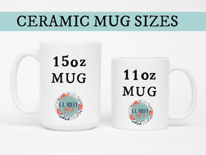 Personalized Gift Mug for Wedding Couple, Bride and Groom Coffee Mug, Wedding Gift for Bride and Groom - elrileygifts