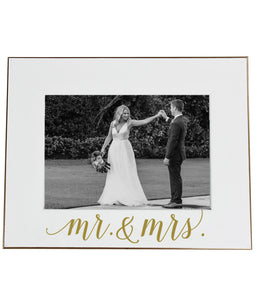 Mr & Mrs Picture Frame - elrileygifts