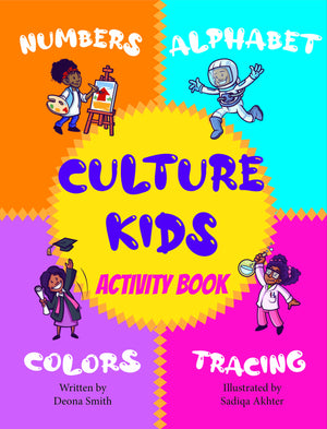 Culture Kids Activity Book