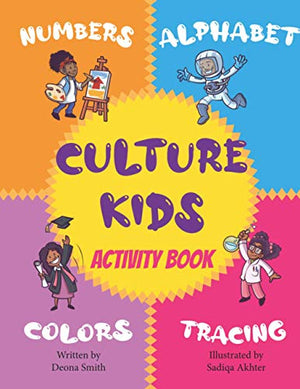 Culture Kids Activity Book: Fun with Letters, Numbers, Shapes, and Colors