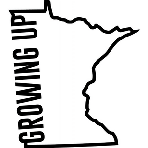 Growing up Minnesota logo