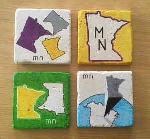 Minnesota Coaster Set