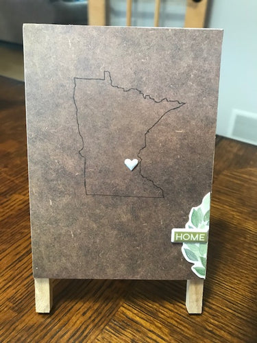 Minnesota Home Decor Easel