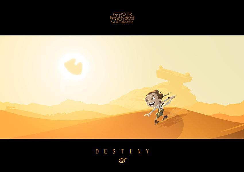 Little Rey's Destiny