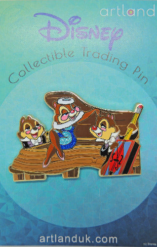 Chip, Dale & Clarice Cut Out Series