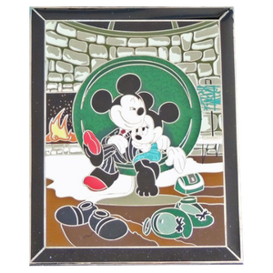 Studio Art Archives Series - Date Night - Mickey and Minnie