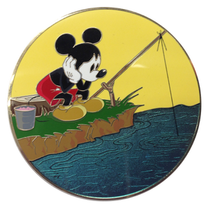 Golden Magic Series - Mickey - Gone Fishing