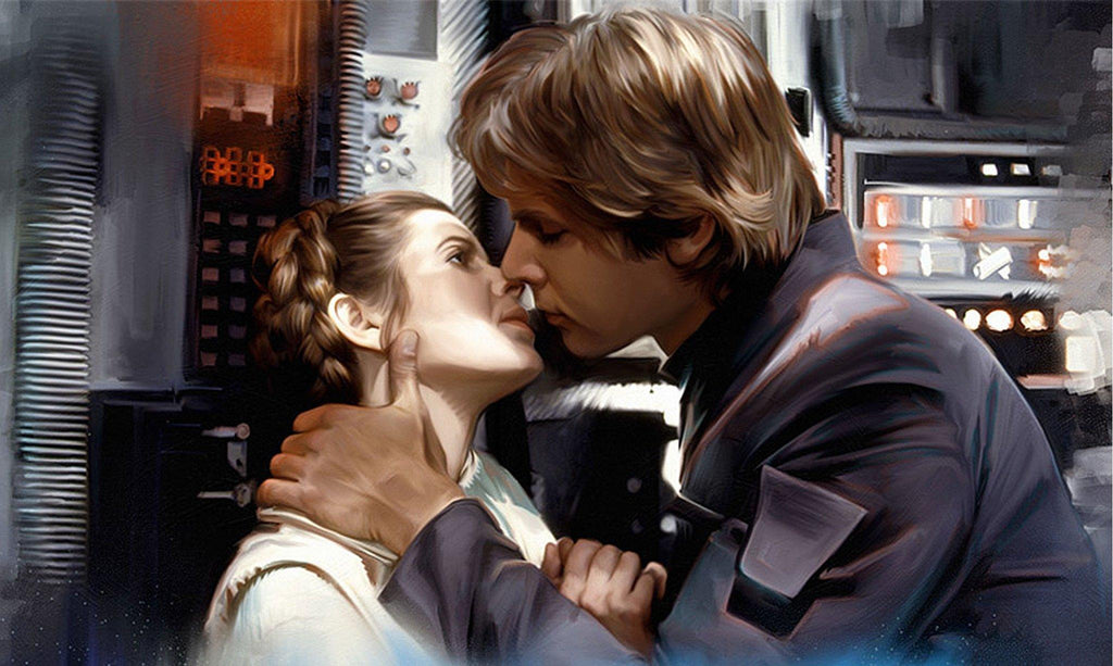 Star Wars - He Knew by Brian Rood; giclee limited edition art on canvas