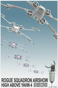 Rogue Squadron Airshow - Canvas (Small)