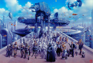Cloud City Celebration - Canvas Small