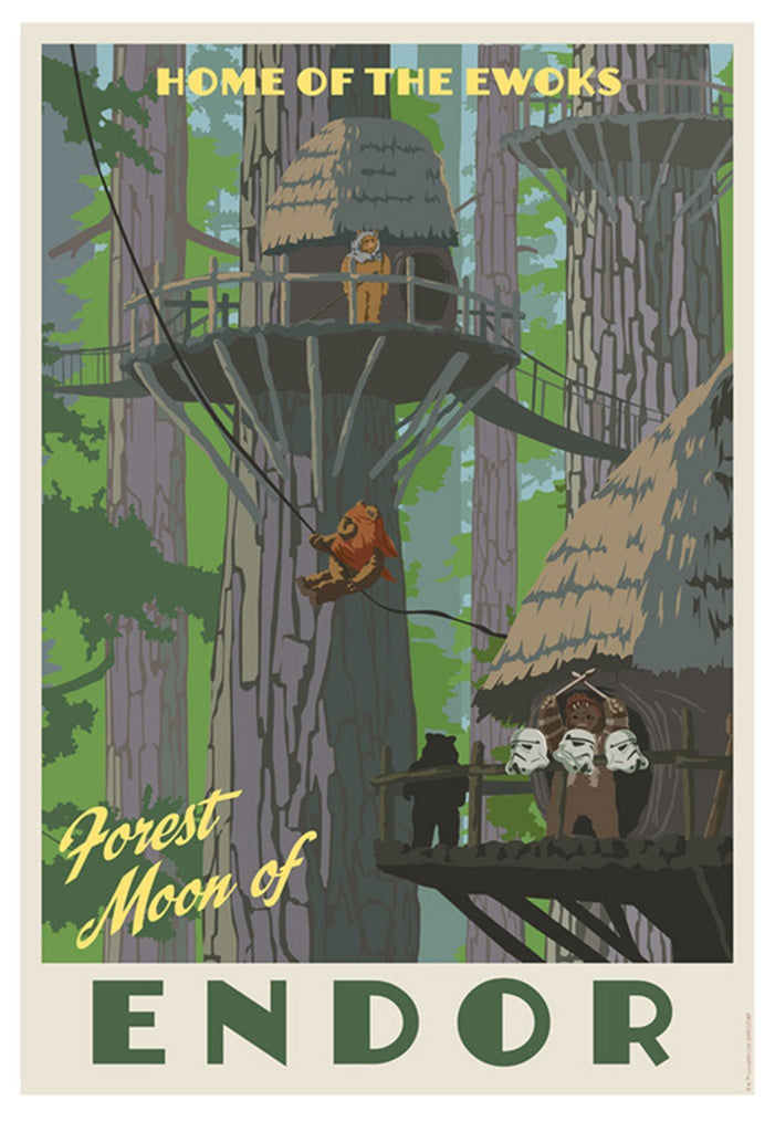Home of the Ewoks