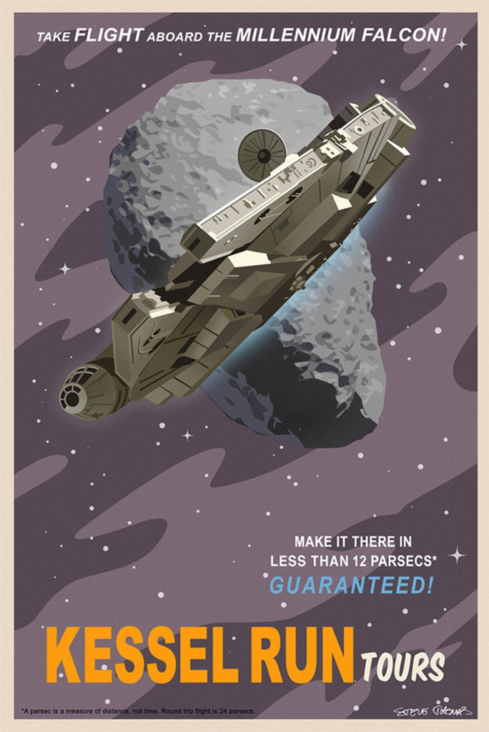 Kessel Run Tours - Canvas (Small)