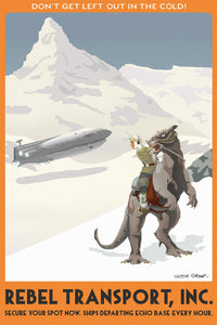 Hoth Rebel Transport, Inc. - Canvas (Small)
