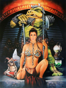 Star Wars - Jester's Court by Dave Nestler; lithograph edition art on paper