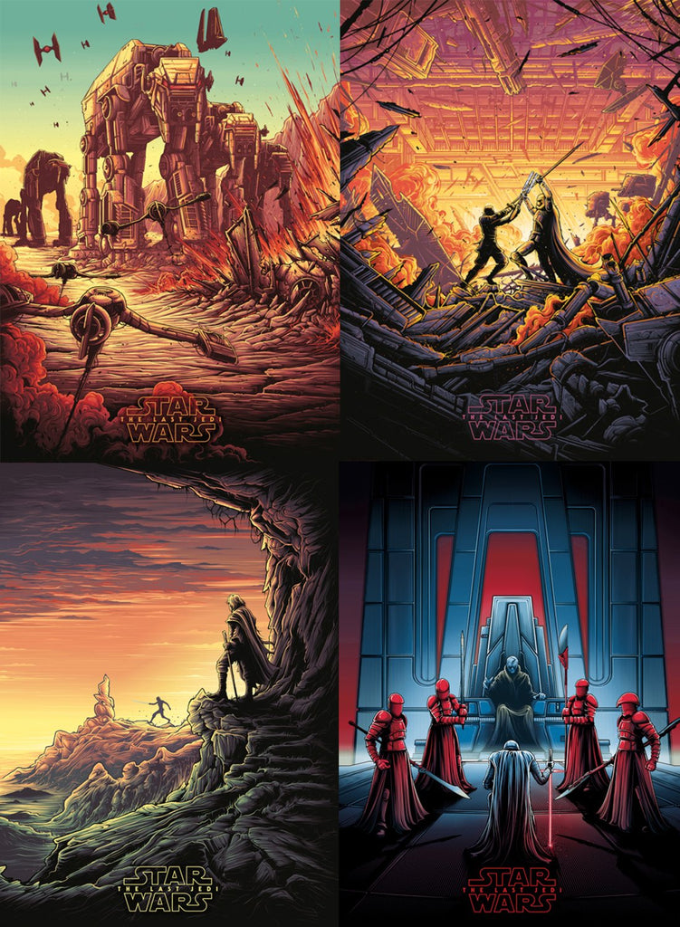 Star Wars: The Last Jedi Timed Release - Dan Mumford Collection