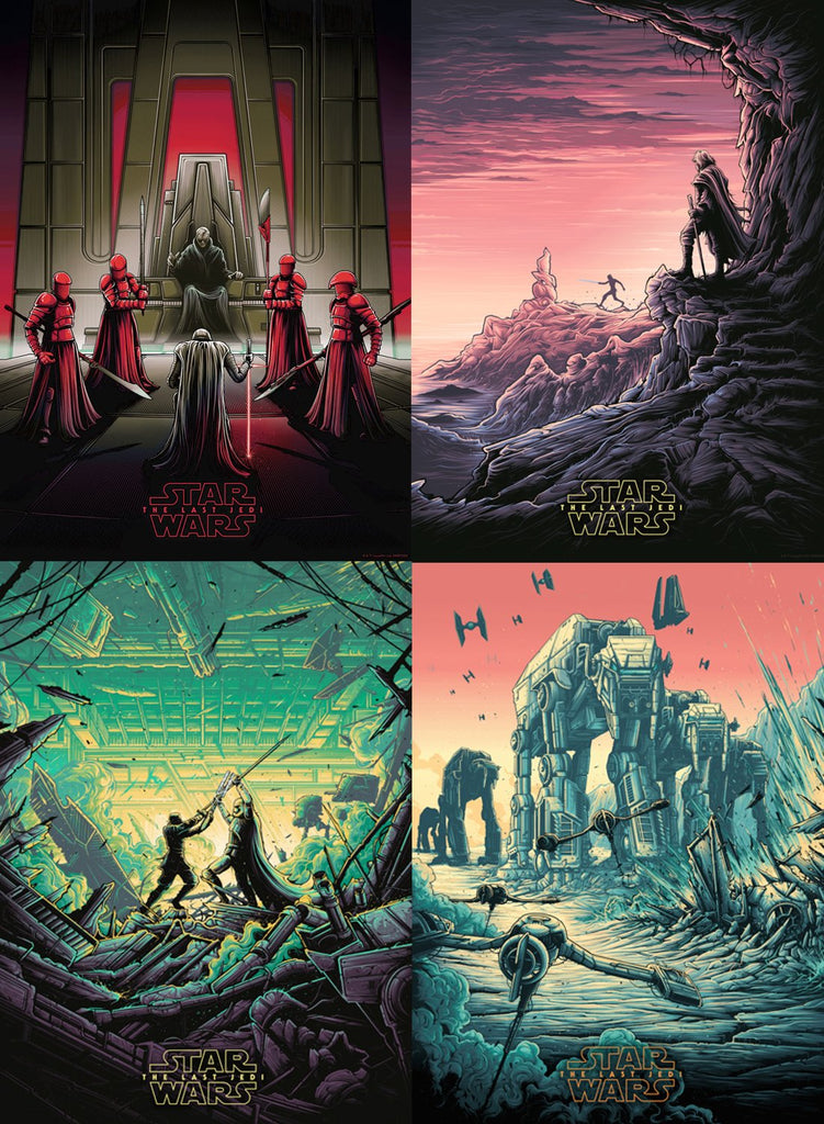 Star Wars: The Last Jedi - Dan Mumford Variant Collection