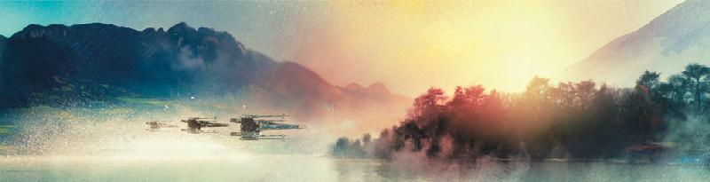 X-Wings at Twilight - Lithograph