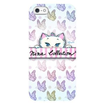Nina Peeking - iPhone Case
