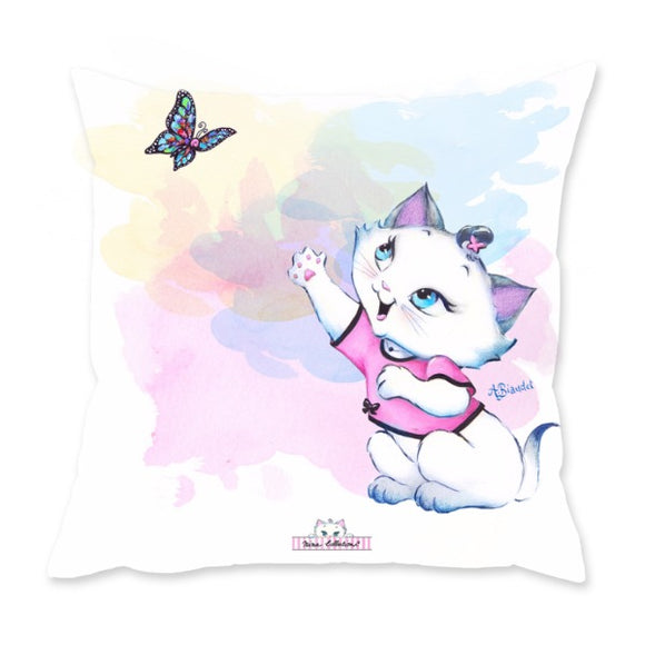 Nina and Butterfly - Cushion