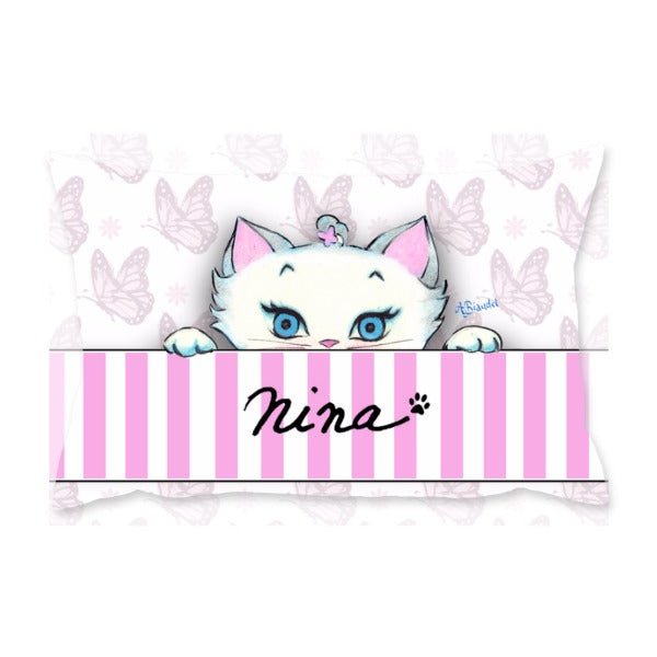 Nina Peeking - Cushion