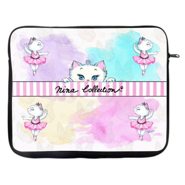 Nina Peeking - Laptop Case