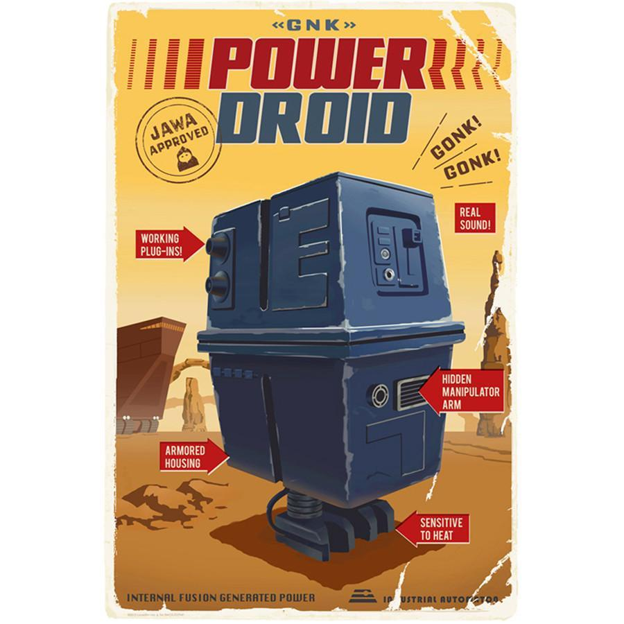 Star Wars - Power Droid by Steve Thomas; giclee limited edition art on paper