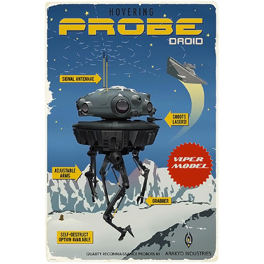 Star Wars - Probe Droid by Steve Thomas; giclee limited edition art on paper