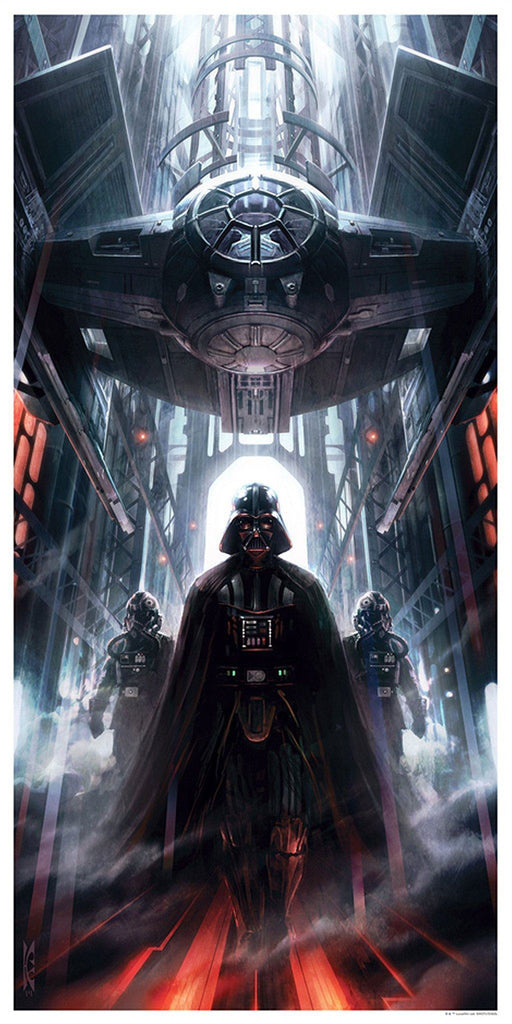 Star Wars - Machines of Dominion by Raymond Swanland; giclee limited edition art on paper
