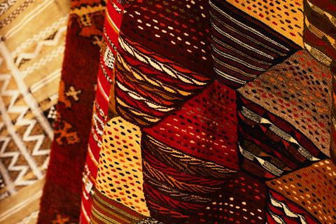 Vibrant Tribal Rugs From Morocco
