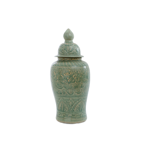 Gucci Lidded Pot- Sage